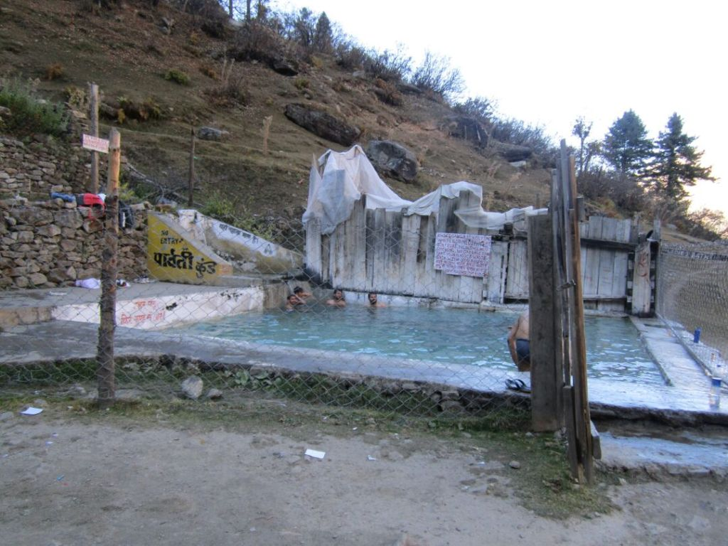 Hot-Spring Bath, Kheerganga