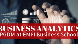 PGDM Business Analytics at EMPI B-School
