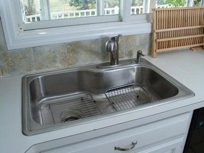 how to install a kitchen sink bob vila