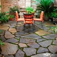 how to build a stone patio bob vila