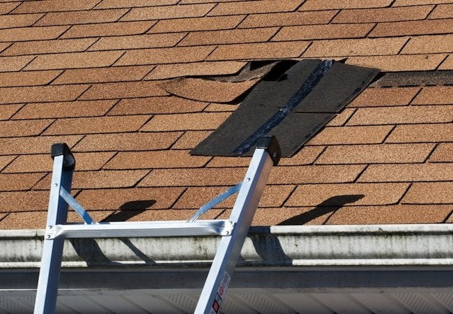 repairing a leaky roof yourself