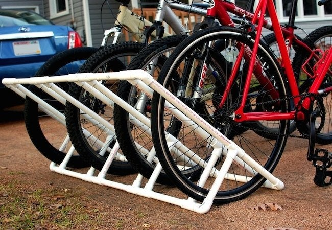 diy bike rack 5 ways to build your