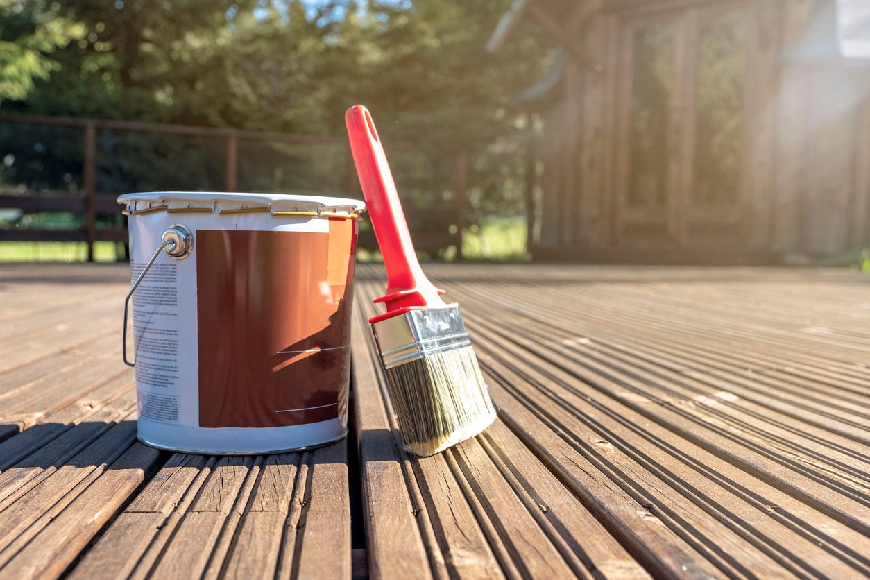 how to paint a deck from preparation to restoration diy tips