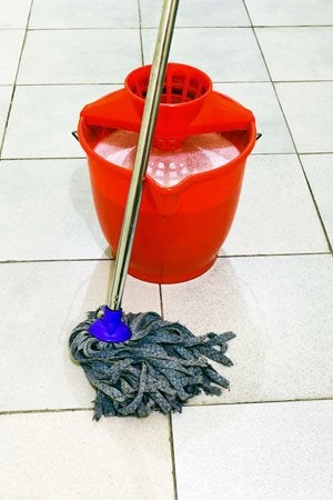 how to clean ceramic tile homeowner s