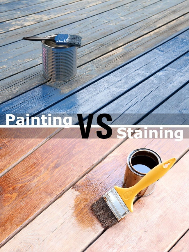 painting vs staining a deck 7 big