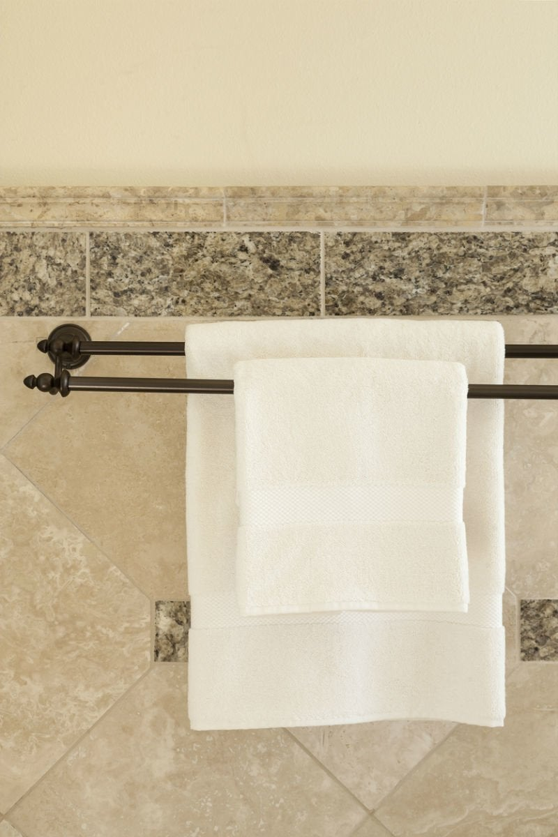 towel bar height for bathrooms solved