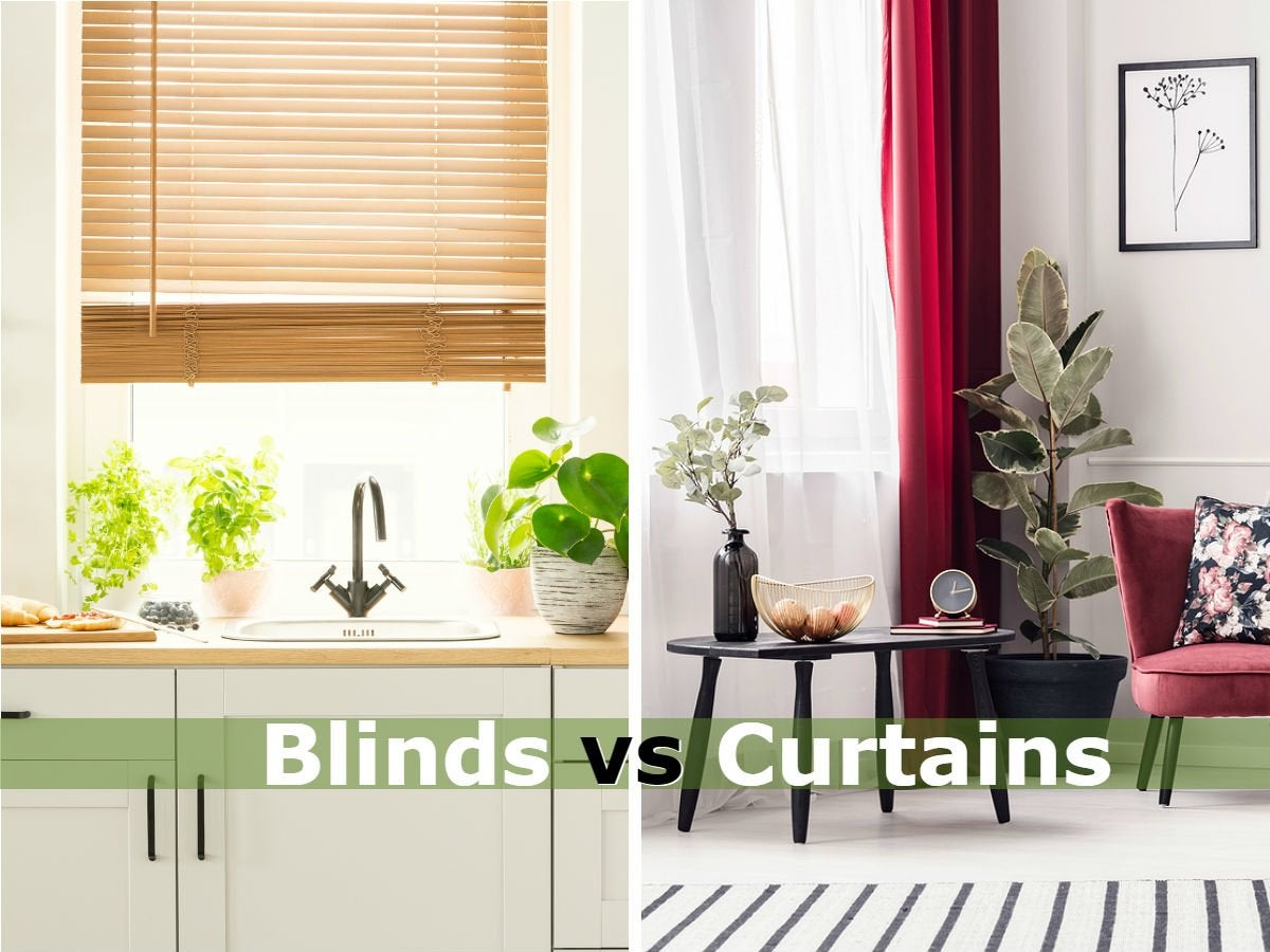 blinds vs curtains the best window