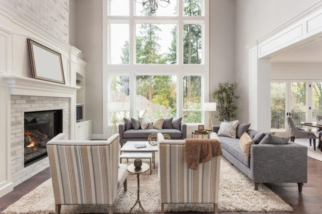 high ceilings and how to live with them