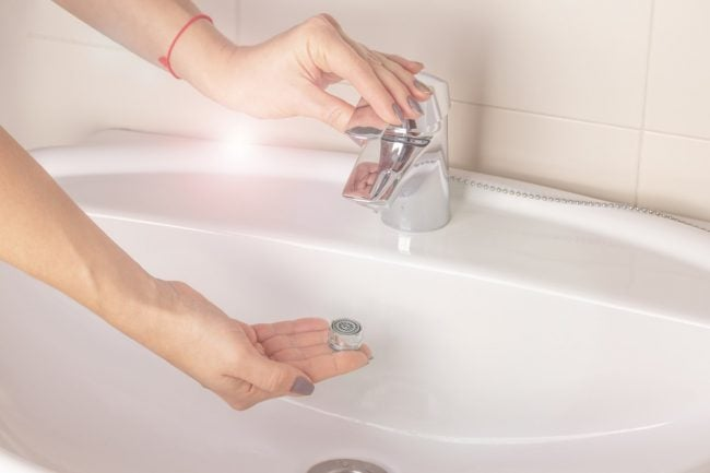low flow faucets and fixtures