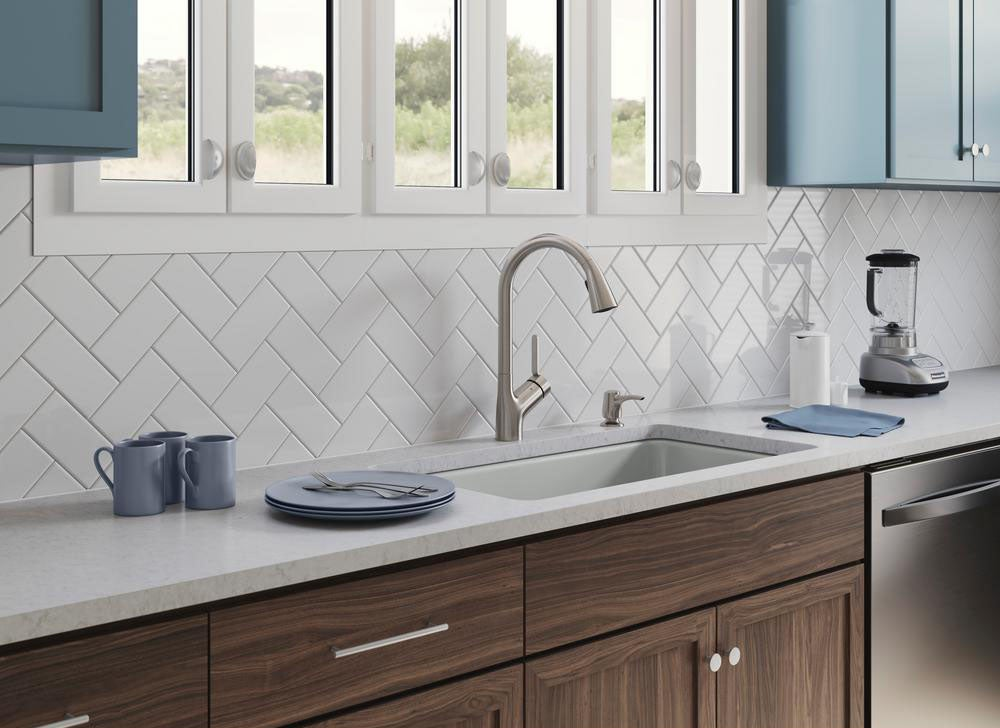 7 types of kitchen faucets homeowners