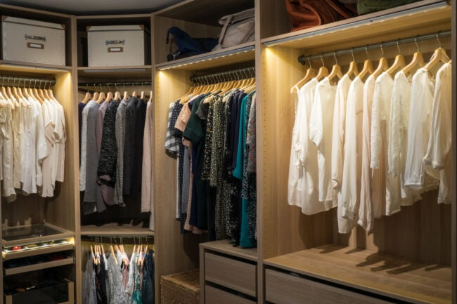 the best closet lighting options for 2021 bob vila