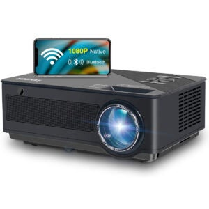 best outdoor projector Native 1080p Full HD Projector edited