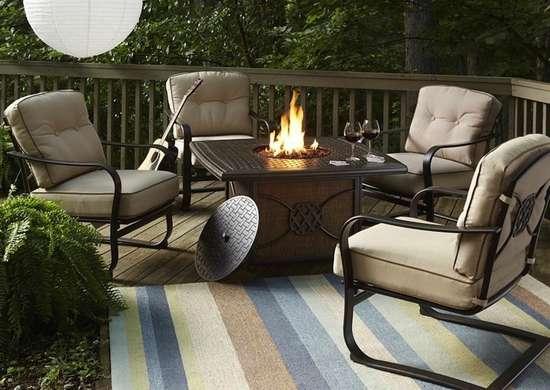 small patio furniture 9 double duty