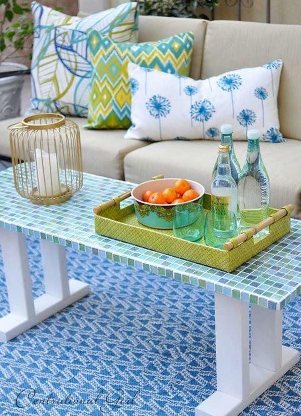 diy patio table 15 easy ways to make