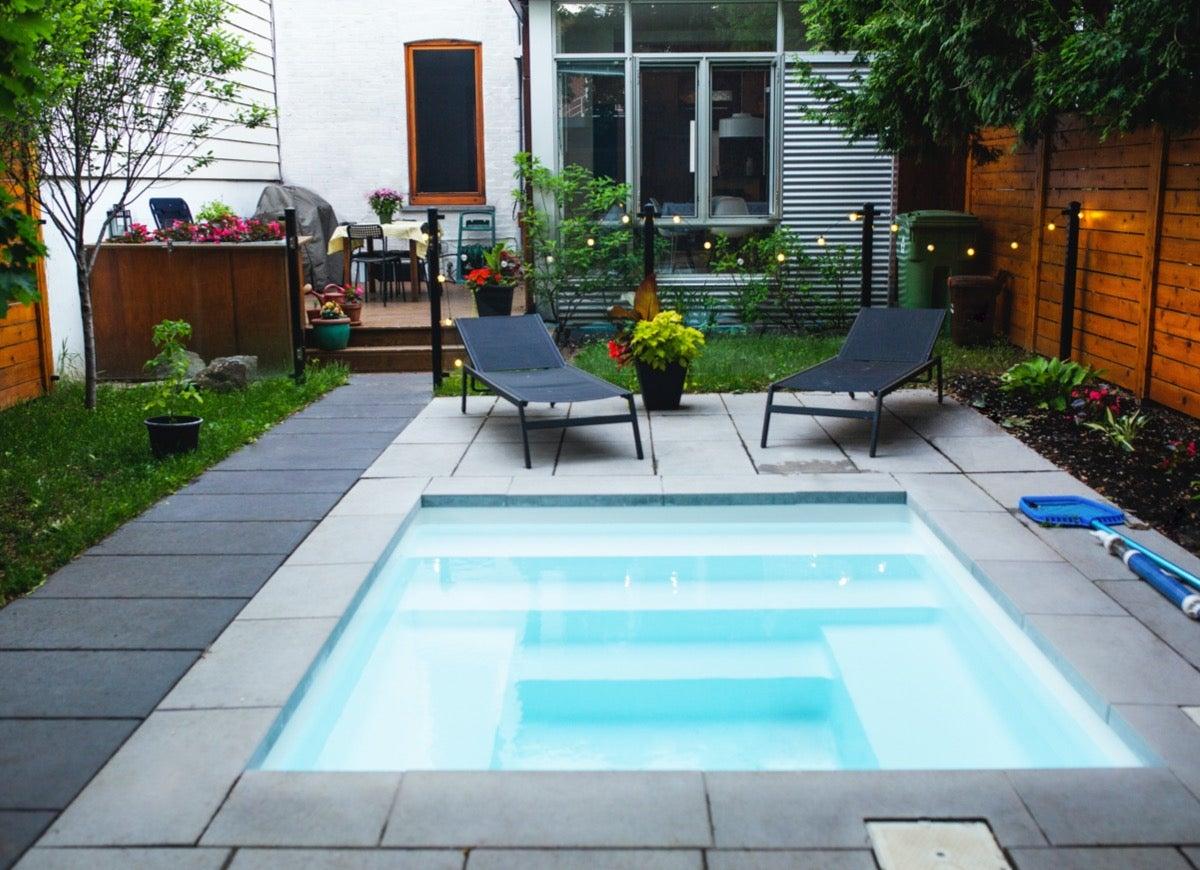 small pool work in your backyard