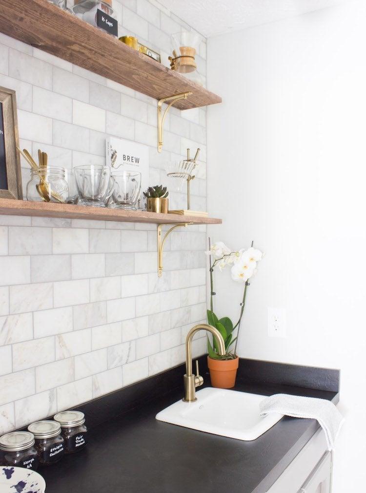 diy coffee bar perk up your home