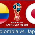 LIVE STREAM 2018 World Cup: Colombia vs Japan
