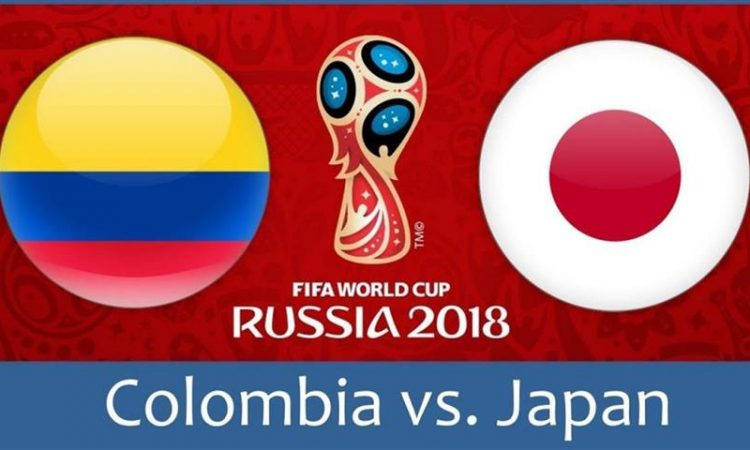 Colombia vs Japan LIVE STREAM WORLD CUP 2018