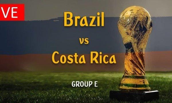 Live Stream Worldcup FIFA 2018 Brazil vs Costa Rica