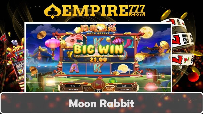 Empire777 Asia Top Online Casino Moon Rabbit Slot Big Win