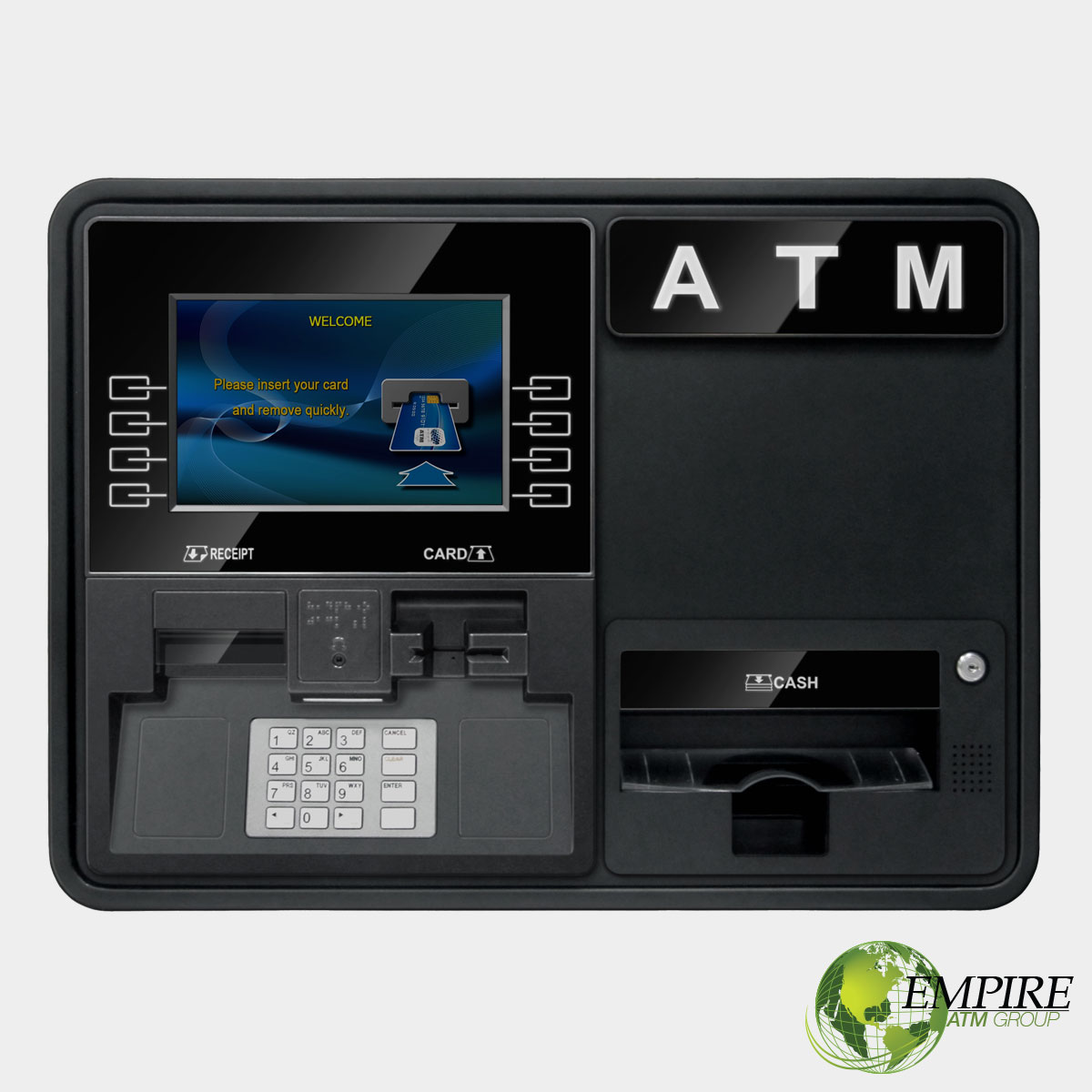 Genmega Onyx Wall Mount ATM Machine