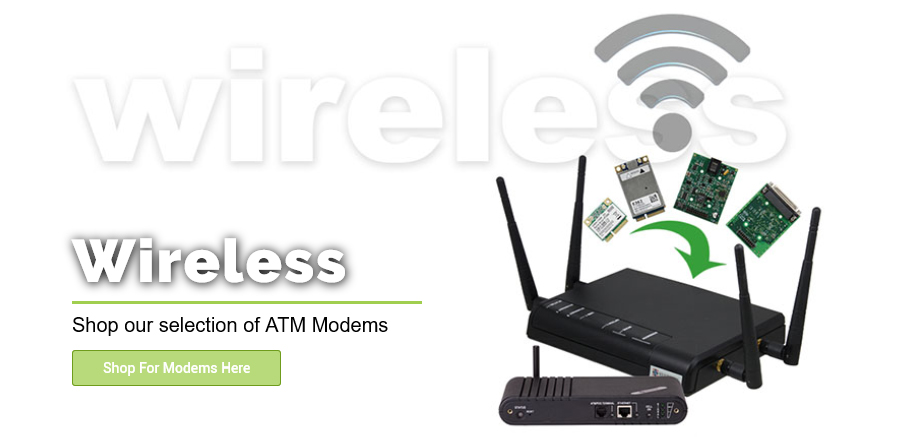ATM Bridges, Modems, and Wireless Routers from Empire ATM Group, shop online at empireatmgroup.com