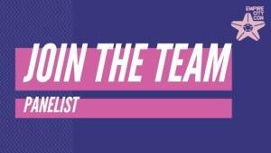 join the team - panelist