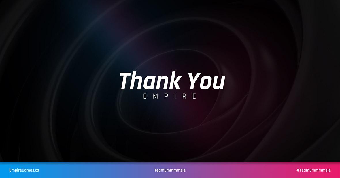 TeamEmmmmsie - Closing Card