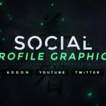 Addon – Social Profile Graphics