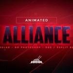 Alliance: Stream Overlay Pack (Animated)