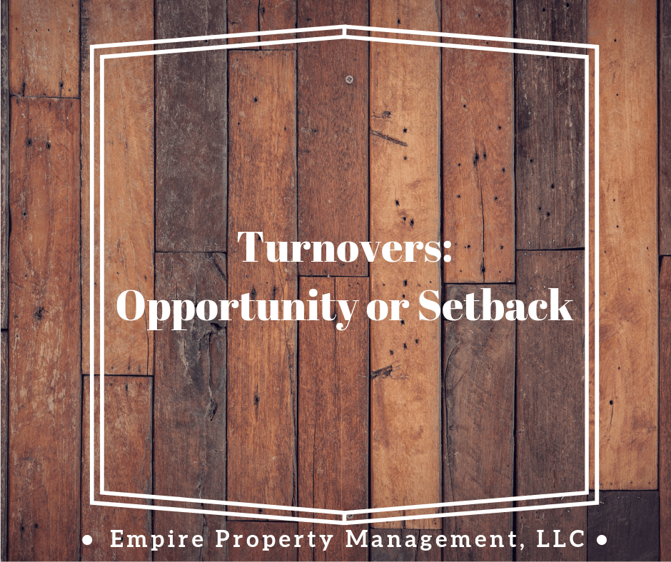 Turnovers: Opportunity or Setback?