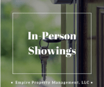 In-Person Showings