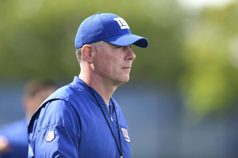 New York Giants head coach, Pat Shurmur.