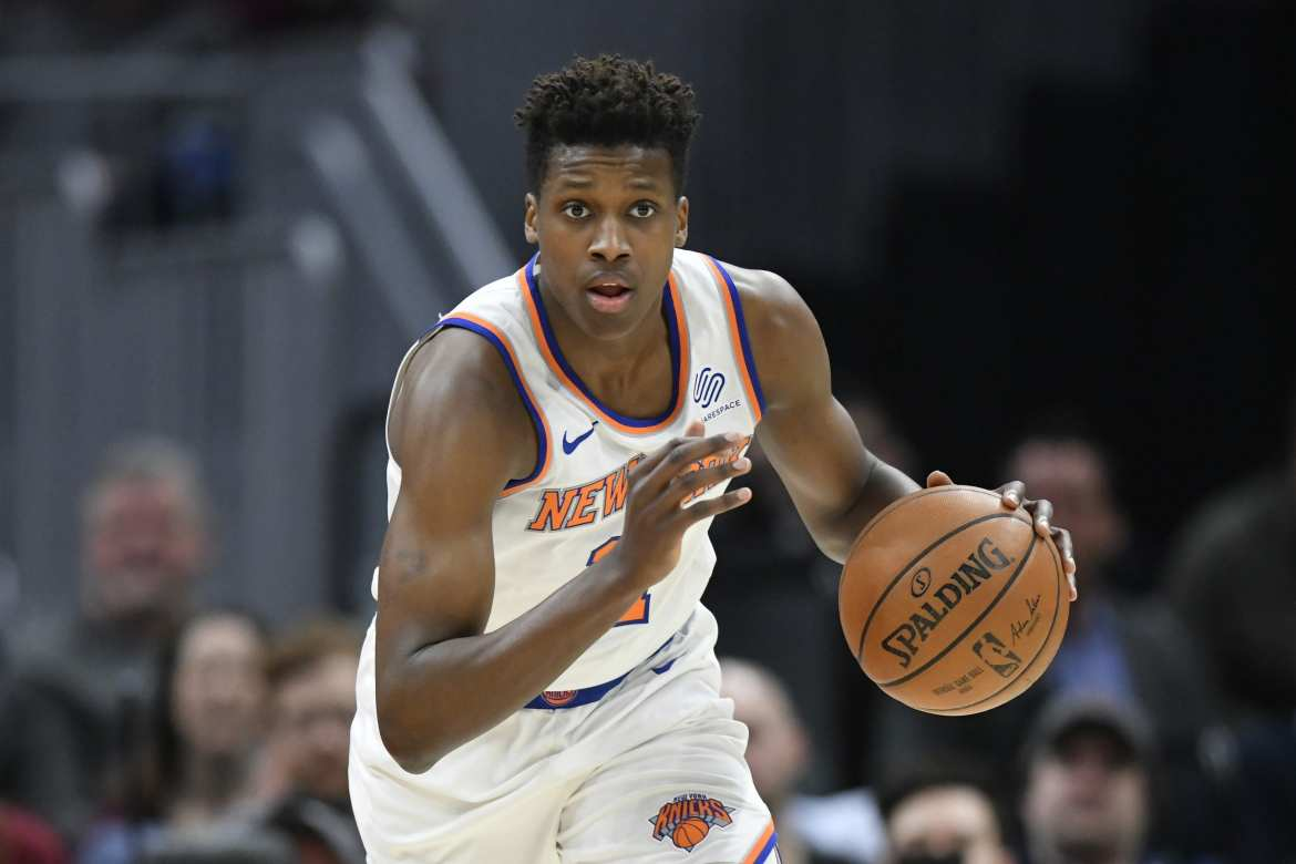 New York Knicks, Frank Ntilikina