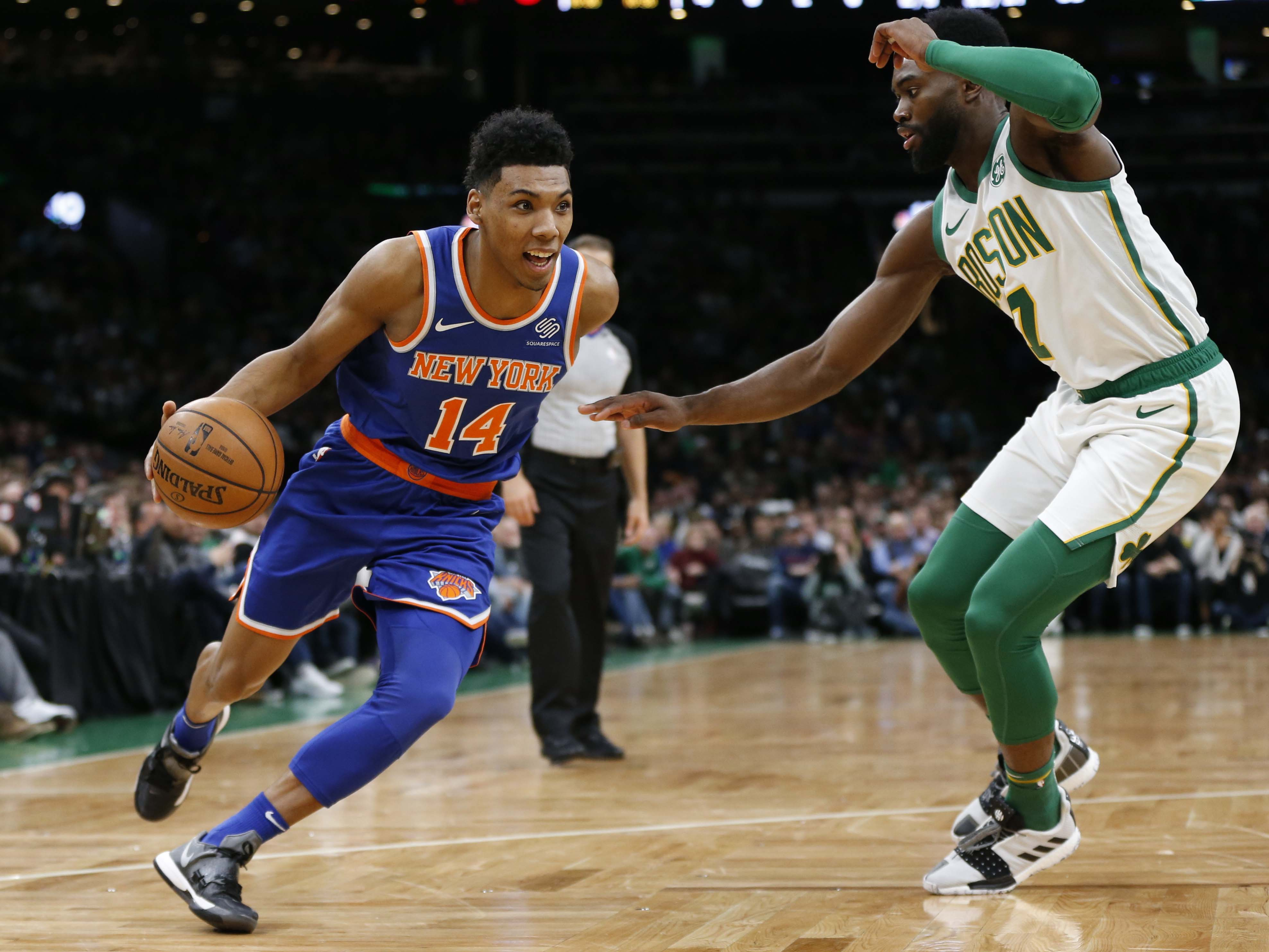 887e182f2 Knicks Blown Out By Boston Celtics While Ntilikina Earns Another DNP