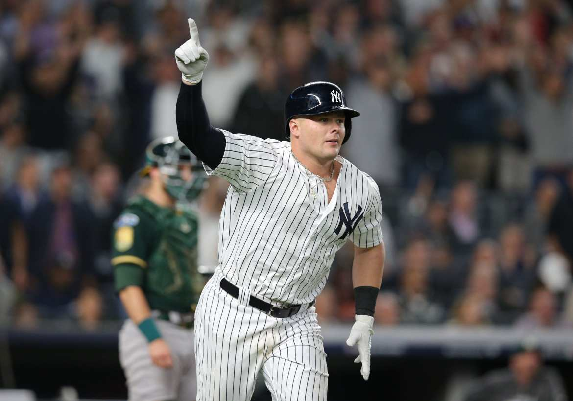 New York Yankees, Yankees, NYY, Luke Voit