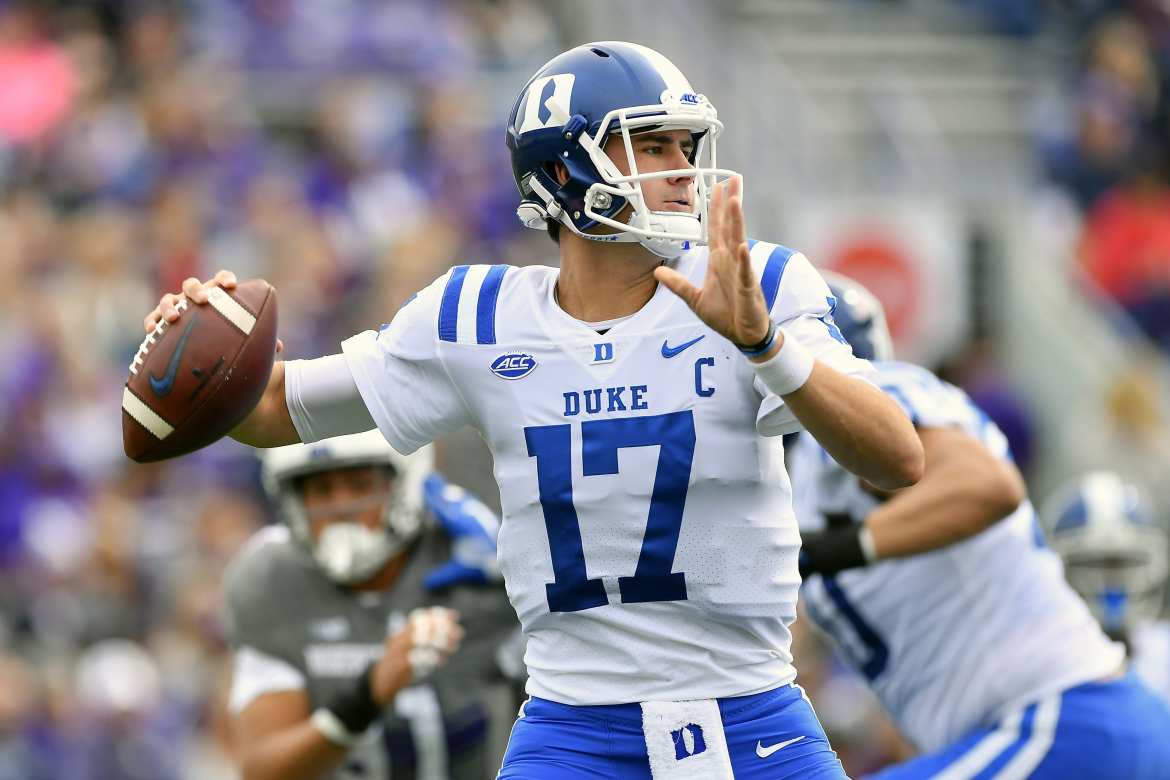 The New York Giants have drafted Daniel Jones with the 6th overall pick in the 2019 NFL Draft.
