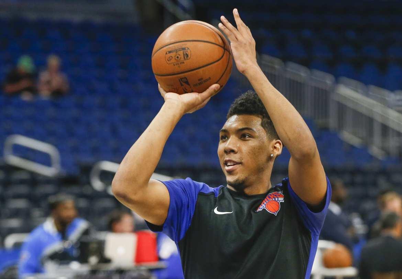 New York Knicks, Allonzo Trier