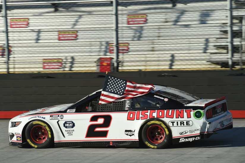 NASCAR: Brad Keselowski steals a wild Bristol race