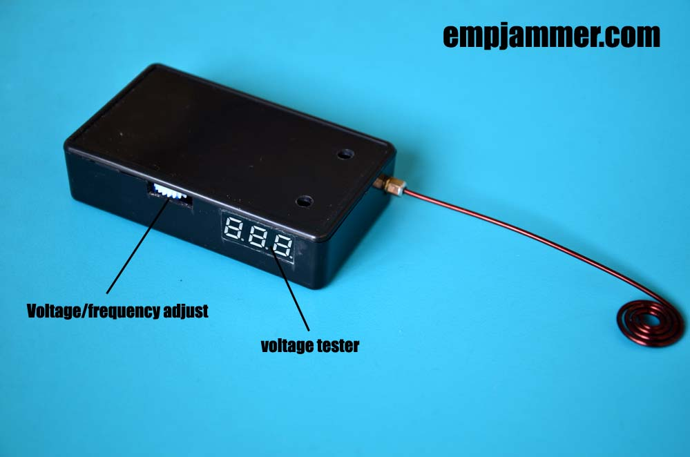 hack slot machines with EMP jammer with voltage tester No24s | 2019