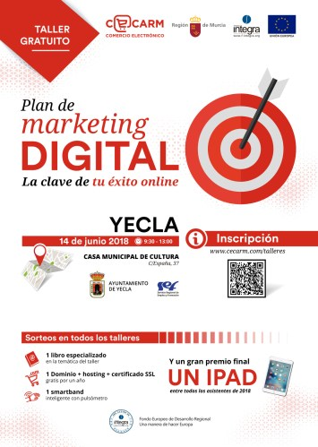 "Taller gratuito ""Plan de marketing digital"""