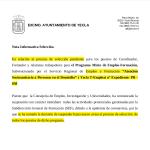 """Nota Informativa Selección """"Atención Sociosanitaria a Personas en el Domicilio""""nº Expediente: PR -050"""