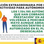Ante la emergencia por Covid-19 la Concejalía de Empleo informa: Prestación extraordinaria Autonomos