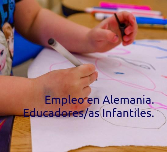 Empleo en Alemania. Educadores infantiles con inglés.