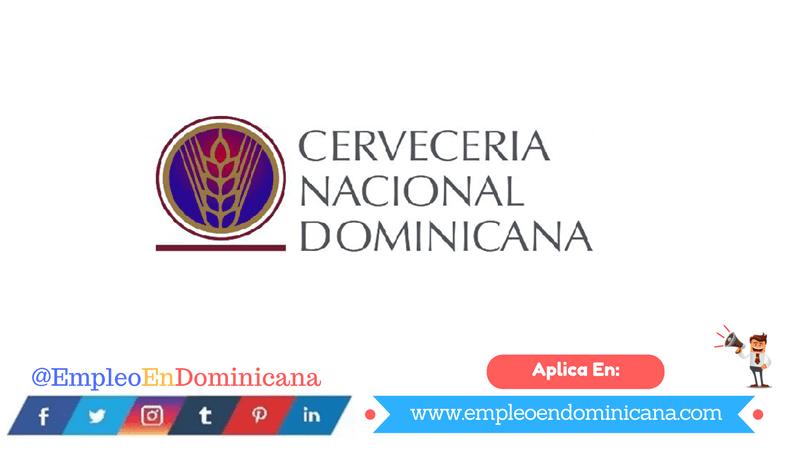 Vacante de EMPLEO en Cervecería Nacional Dominicana empleo en dominicana