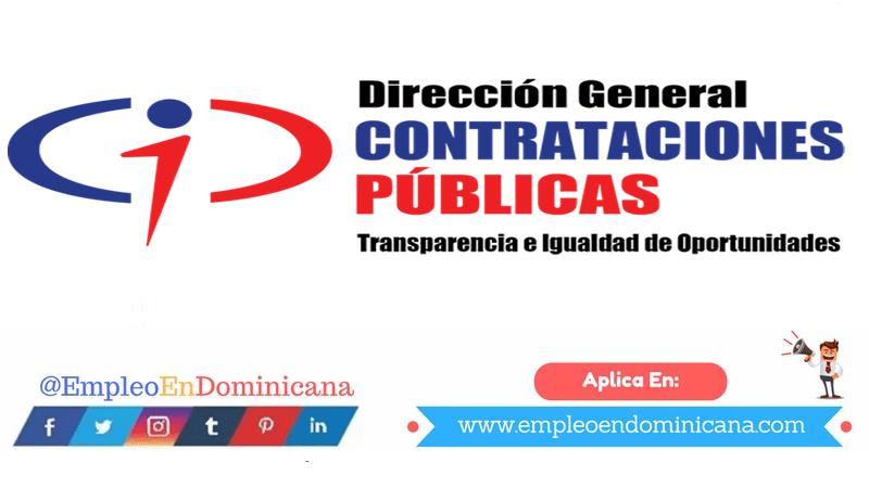 vacantes de empleos disponibles en Compra y Contrataciones aplica ahora a la vacante de empleo en República Dominicana