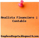 Analista Financiero : Contable