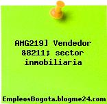 AMG219] Vendedor &8211; sector inmobiliaria