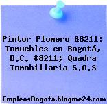 Pintor Plomero &8211; Inmuebles en Bogotá, D.C. &8211; Quadra Inmobiliaria S.A.S