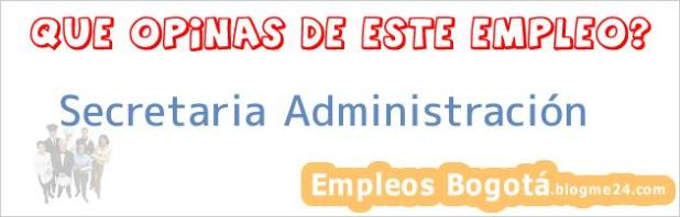 Secretaria Administración